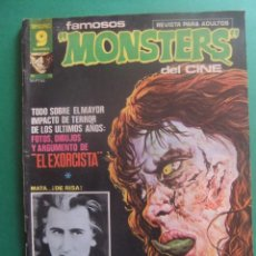Cómics: FAMOSOS MONSTERS DEL CINE Nº 19 GARBO. Lote 221646761