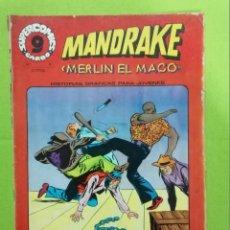 Cómics: MANDRAKE Nº 8 ** MERLIN EL MAGO ** SUPERCOMICS GARBO. Lote 222413696