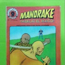 Cómics: MANDRAKE Nº 5 ** MERLIN EL MAGO ** SUPERCOMICS GARBO. Lote 222413737