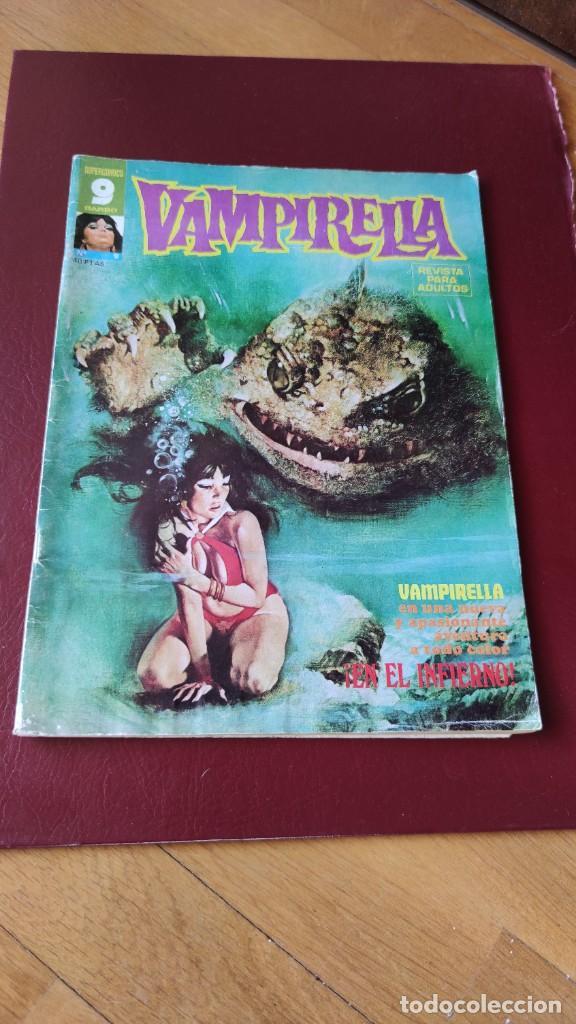 VAMPIRELLA (GARBO) Nº 9 EN BUEN ESTADO (Tebeos y Comics - Garbo)