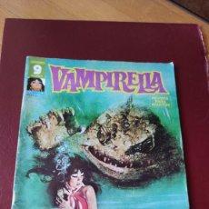 Cómics: VAMPIRELLA (GARBO) Nº 9 EN BUEN ESTADO. Lote 222959100