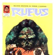 Cómics: RUFUS 3. RELATOS GRÁFICOS DE TERROR Y SUSPENSE. (VVAA) GARBO, 1973. Lote 224141442