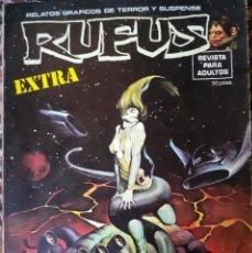 Cómics: RUFUS - ESPECIAL CIENCIA FICCIÓN 1974 122 PAGS. B/N. Lote 225469300