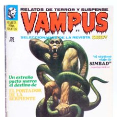 Cómics: VAMPUS 8. RELATOS DE TERROR Y SUSPENSE SELECCIONADOS DE <STRONG>CREEPY</STRONG>. (VVAA) GARBO, 1972. Lote 227483182
