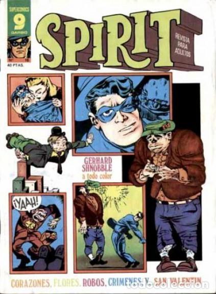 Cómics: SPIRIT-GARBO- Nº 16 -1976-MÍTICA REVISTA-LEGENDARIO-WILL EISNER-CORRECTO-DIFÍCIL-LEA-4113 - Foto 2 - 227895410