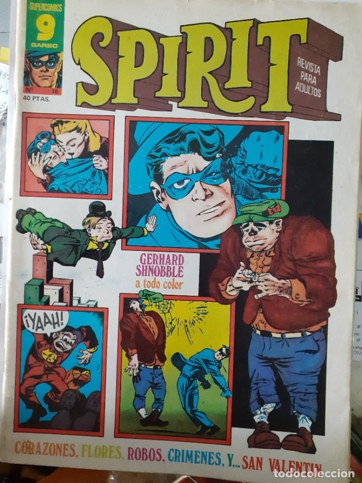 Cómics: SPIRIT-GARBO- Nº 16 -1976-MÍTICA REVISTA-LEGENDARIO-WILL EISNER-CORRECTO-DIFÍCIL-LEA-4113 - Foto 3 - 227895410