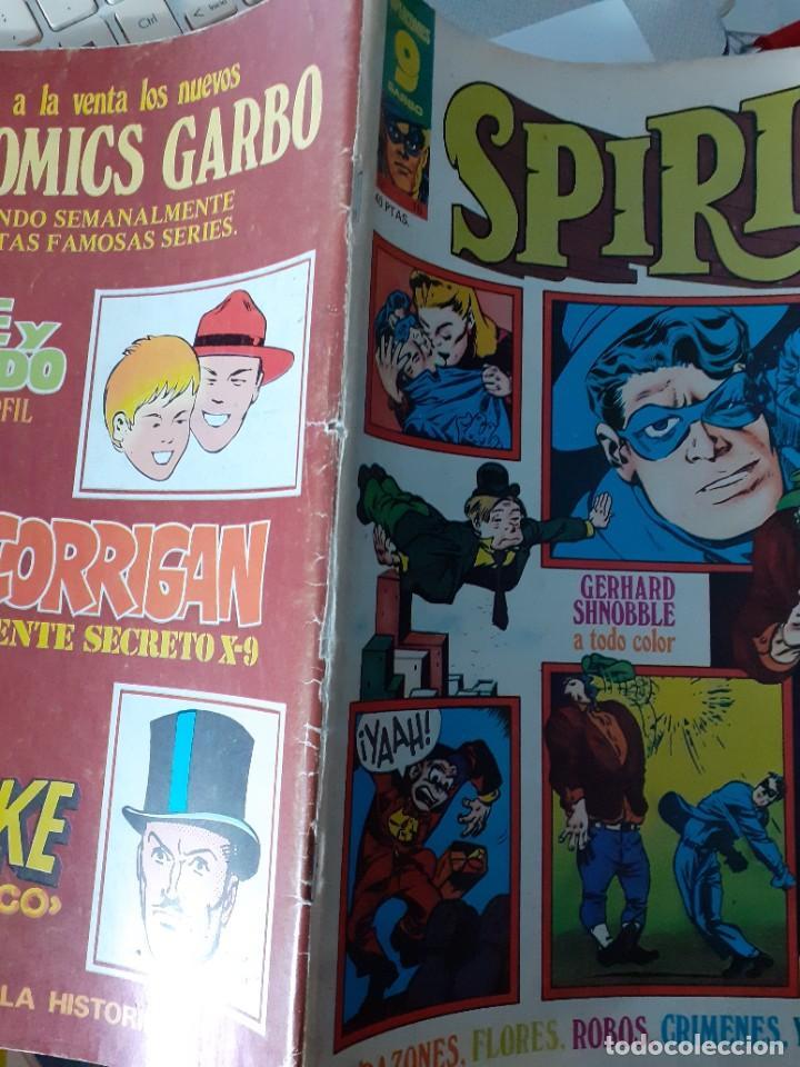 Cómics: SPIRIT-GARBO- Nº 16 -1976-MÍTICA REVISTA-LEGENDARIO-WILL EISNER-CORRECTO-DIFÍCIL-LEA-4113 - Foto 4 - 227895410