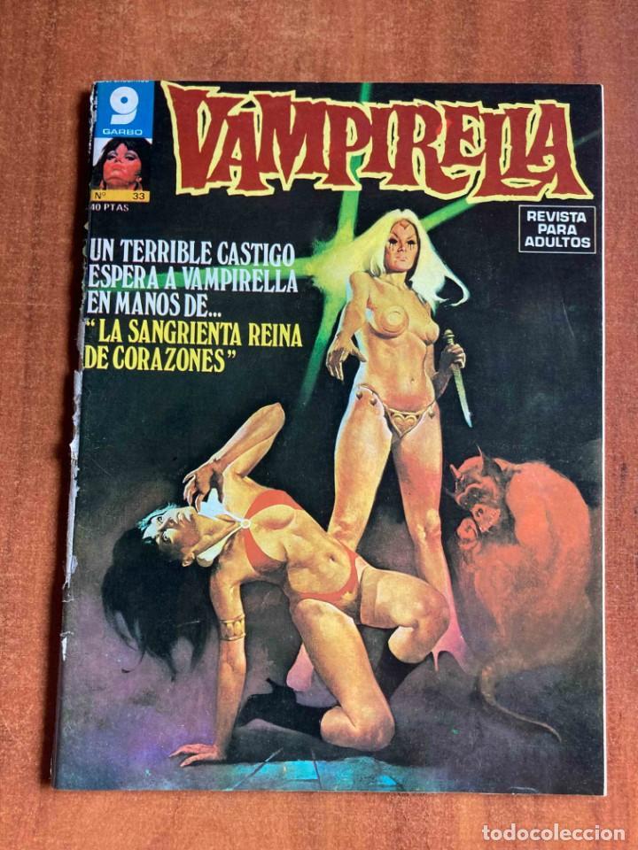 CÓMIC VAMPIRELLA Nº33 GARBO (Tebeos y Comics - Garbo)
