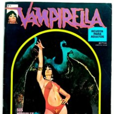 Cómics: COMIC VAMPIRELLA Nº 1 EDITORIAL GARBO - RELATOS GRAFICOS DE TERROR - COMIC PARA ADULTOS. Lote 235174160