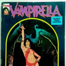 Cómics: COMIC VAMPIRELLA Nº 1 EDITORIAL GARBO - RELATOS GRAFICOS DE TERROR - COMIC PARA ADULTOS. Lote 235174290