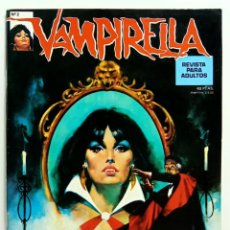 Cómics: COMIC VAMPIRELLA Nº 2 EDITORIAL GARBO - RELATOS GRAFICOS DE TERROR - COMIC PARA ADULTOS. Lote 235176845