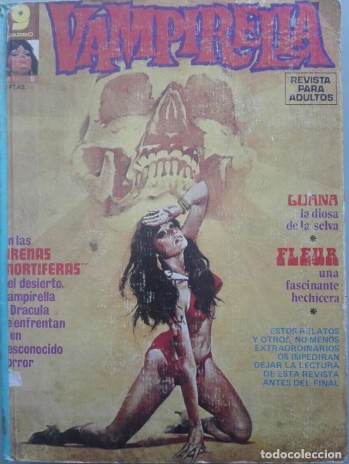 TOMO VAMPIRELLA AÑOS 70 NUMEROS 5-17-18-19-20-21-22 (Tebeos y Comics - Garbo)