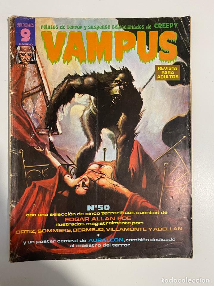 Cómics: VAMPUS. Nº 50. REVISTA PARA ADULTOS. SUPERCOMIS GARBO. - Foto 1 - 236142730