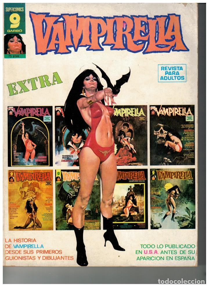VAMPIRELLA EXTRA. GARBO 1973. BUENO. (Tebeos y Comics - Garbo)