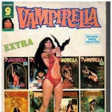 Cómics: VAMPIRELLA EXTRA. GARBO 1973. BUENO.. Lote 236195635