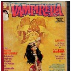 Cómics: VAMPIRELLA TOMO DE LA EDITORIAL CON LOS NÚMEROS: 5,16,17,18,20 Y 21 EN ESE ORDEN. GARBO 1973.. Lote 236203880