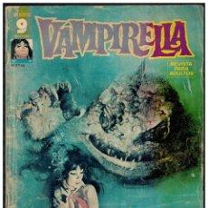 Cómics: VAMPIRELLA Nº 9. GARBO 1973. PORTADA DESLUCIDA.INTERIOR BUENO.. Lote 236209145
