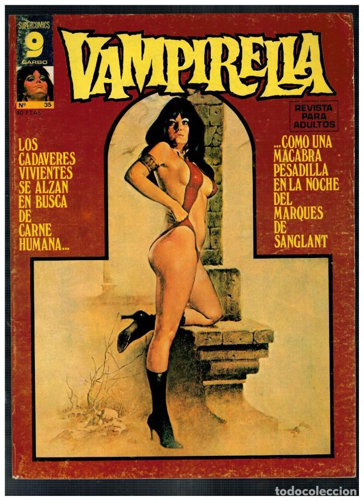 VAMPIRELLA Nº 35. BUENO. (Tebeos y Comics - Garbo)