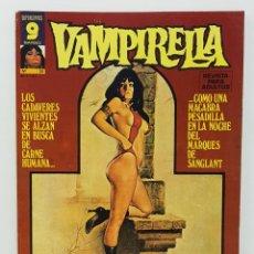 Comics: COMIC VAMPIRELLA Nº 35 - REVISTA PARA ADULTOS - GARBO EDITORIAL - 1974/78 - TERROR. Lote 237738355