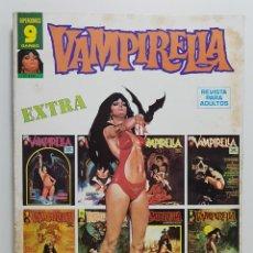 Comics: COMIC VAMPIRELLA EXTRA JULIO 1975 - REVISTA PARA ADULTOS - GARBO EDITORIAL - TERROR. Lote 237923890