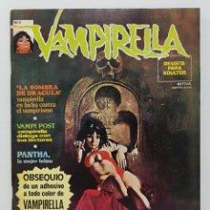 Comics : COMIC VAMPIRELLA Nº 3 - REVISTA PARA ADULTOS - GARBO EDITORIAL - 1974/78 - TERROR. Lote 237960770
