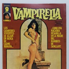 Comics : COMIC VAMPIRELLA Nº 35 - REVISTA PARA ADULTOS - GARBO EDITORIAL - 1974/78 - TERROR. Lote 237964275