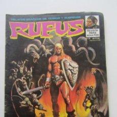 Fumetti: RUFUS Nº 19 LOS DEMONIOS DE MINAKERIBERO 1974 GARBO ARX55. Lote 238643460