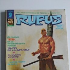Cómics: RUFUS Nº 30 ~ GARBO EDITORIAL. Lote 239586495