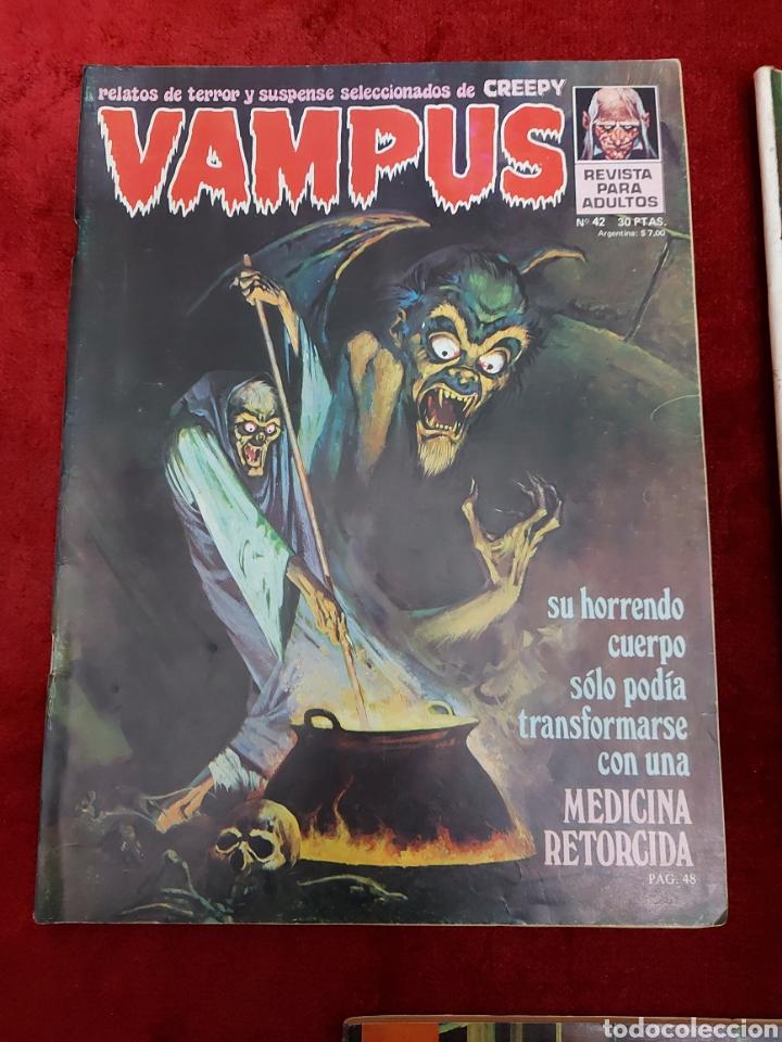 Cómics: VAMPUS COMIC DE RELATOS DE TERROR Y SUSPENSE N°42,45,50,53,56,61 Y 71,/CREEPY/MIEDO/PANICO/HORROR/ - Foto 3 - 239920975