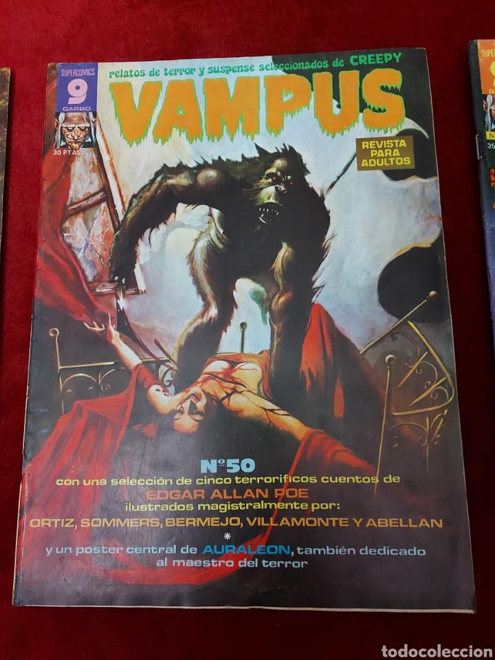 Cómics: VAMPUS COMIC DE RELATOS DE TERROR Y SUSPENSE N°42,45,50,53,56,61 Y 71,/CREEPY/MIEDO/PANICO/HORROR/ - Foto 5 - 239920975
