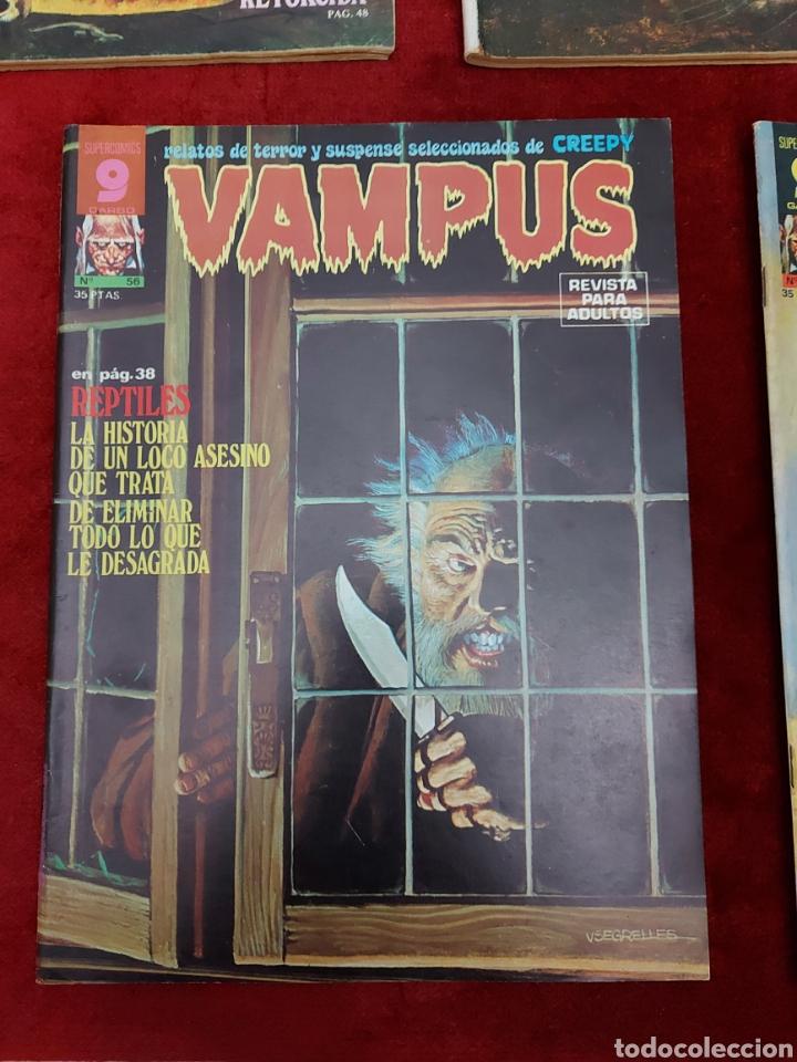 Cómics: VAMPUS COMIC DE RELATOS DE TERROR Y SUSPENSE N°42,45,50,53,56,61 Y 71,/CREEPY/MIEDO/PANICO/HORROR/ - Foto 7 - 239920975