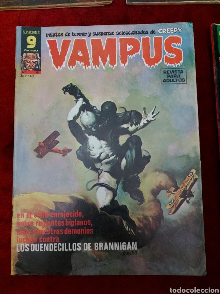 Cómics: VAMPUS COMIC DE RELATOS DE TERROR Y SUSPENSE N°42,45,50,53,56,61 Y 71,/CREEPY/MIEDO/PANICO/HORROR/ - Foto 8 - 239920975
