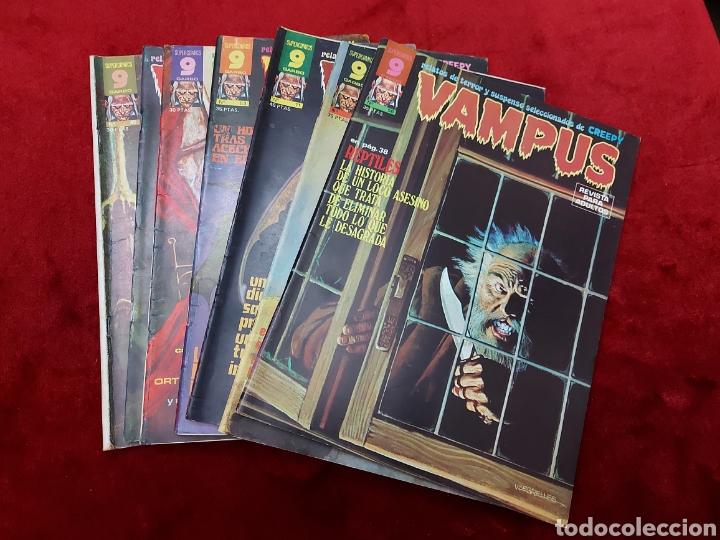 VAMPUS COMIC DE RELATOS DE TERROR Y SUSPENSE N°42,45,50,53,56,61 Y 71,/CREEPY/MIEDO/PANICO/HORROR/ (Tebeos y Comics - Garbo)