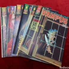 Cómics: VAMPUS COMIC DE RELATOS DE TERROR Y SUSPENSE N°42,45,50,53,56,61 Y 71,/CREEPY/MIEDO/PANICO/HORROR/. Lote 239920975