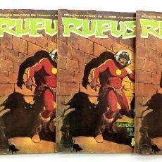 Comics : RUFUS Nº 15 - RELATOS GRAFICOS DE TERROR Y SUSPENSE - GARBO 1973 BUEN ESTADO. Lote 239925020