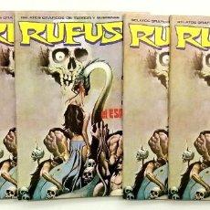 Cómics: RUFUS Nº 14 - RELATOS GRAFICOS DE TERROR Y SUSPENSE - GARBO 1974 EXCELENTE. Lote 239927330