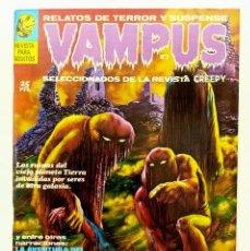 Cómics: VAMPUS Nº 2 - RELATOS GRAFICOS DE TERROR Y SUSPENSE - GARBO 1971 EXCELENTISIMO. Lote 239927820