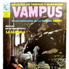 Cómics: VAMPUS Nº 7 - RELATOS GRAFICOS DE TERROR Y SUSPENSE - GARBO 1972 MUY BUENO. Lote 239928370