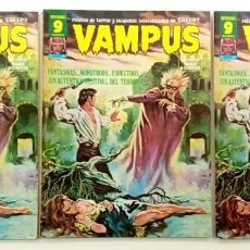 Cómics: VAMPUS Nº 67 - RELATOS GRAFICOS DE TERROR Y SUSPENSE - GARBO 1977 MUY BUENO. Lote 239929040