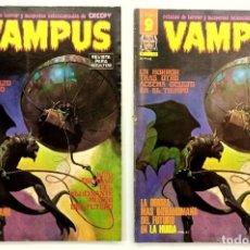Cómics: VAMPUS Nº 53 - RELATOS GRAFICOS DE TERROR Y SUSPENSE - GARBO 1976. Lote 239929250