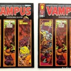 Cómics: VAMPUS Nº 68 - RELATOS GRAFICOS DE TERROR Y SUSPENSE - GARBO 1977 MUY BUENO. Lote 239929325