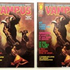 Cómics: VAMPUS Nº 59 - RELATOS GRAFICOS DE TERROR Y SUSPENSE - GARBO 1976 EXCELENTE. Lote 239929670