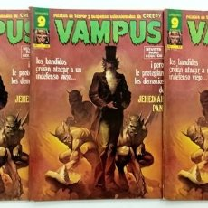 Cómics: VAMPUS Nº 58 - RELATOS GRAFICOS DE TERROR Y SUSPENSE - GARBO 1976 BUEN ESTADO. Lote 240053690