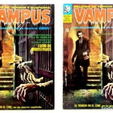 Cómics: VAMPUS Nº 4 - RELATOS GRAFICOS DE TERROR Y SUSPENSE - GARBO 1971 BUEN ESTADO. Lote 240056635