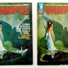 Comics : VAMPUS Nº 66 - RELATOS GRAFICOS DE TERROR Y SUSPENSE - GARBO 1977 MUY BUEN ESTADO. Lote 240058055