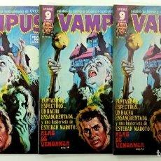 Fumetti: VAMPUS Nº 62 - RELATOS GRAFICOS DE TERROR Y SUSPENSE - GARBO 1976 - MUY BUEN ESTADO - SIN POSTER. Lote 240061270