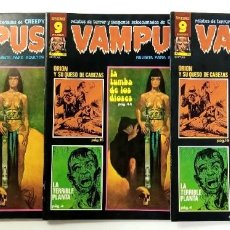 Cómics: VAMPUS Nº 70 - RELATOS GRAFICOS DE TERROR Y SUSPENSE - GARBO 1977 EXCELENTE. Lote 240064205