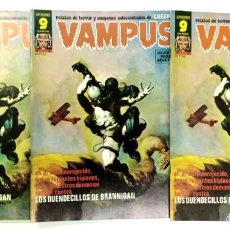 Cómics: VAMPUS Nº 61 - RELATOS GRAFICOS DE TERROR Y SUSPENSE - GARBO 1976 EXCELENTE. Lote 240065475