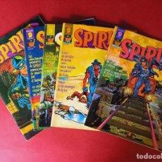Cómics: SPIRIT -LOS 5 PRIMEROS NUMEROS- EDITORIAL GARBO. Lote 241482155