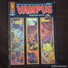 Cómics: VAMPUS 68-CON POSTER CENTRAL. Lote 241553885